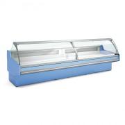 Vitrine réfrigérée pour supermarché - Dimensions (L x  P x H) mm : Jusqu'à 3750  x 1215  x 1230 - Profondeur 1200