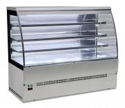 Vitrine réfrigérée self service - Dimensions (mm) : 900 x 785 P x 1510 H