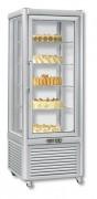 Vitrine réfrigérée verticale positive - Froid positif : + 14 / + 16 °C - Capacité : 197 L