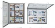 Vitrines d'affichage - Dimensions (cm) : 75x59 108x59 108x82 108x105