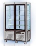 Vitrines verticales froid positif - Volume : Jusqu'à 800 Litres