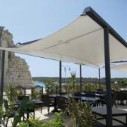 Voile d'ombrage terrasse - Toile  ignifugée - 17 couleurs disponibles