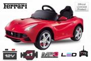 Voiture électrique enfant Ferrari F12 - Fournit avec une télécommande parentale