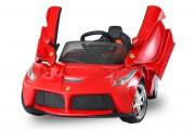 Voiture électrique pour enfant Ferrari - Fournit avec une télécommande parentale