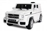 Voiture Mercedes-Benz pour enfant - Contrôlée par télécommande ou accélérateur