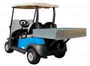 Voiturette benne électrique 2 places - Véhicule éco-responsable avec batterie lithium 48V-100A