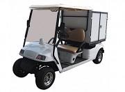 Voiturette de golf frigo - Golfcar 2 places avec compartiment frigorifique