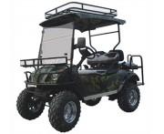 Voiturette électrique polyvalente 4 places - Utilitaire avec espace de rangement pour transport charge