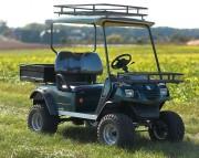 Voiturette électrique tout terrain 2 places - Autonomie : 55 à 90 kms selon utilisation