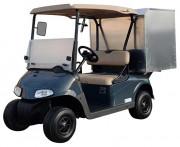 Voiturette électrique utilitaire fourgon tôlé - Véhicule électrique avec caisson arrière tôlé