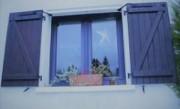 Volets battants pour fenêtres - En bois - En PVC - En aluminium - En composite
