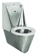WC automatique hygiénique HYGISEAT suspendu inox - Toilettes autonettoyantes au fonctionnement simple, fiable et robuste.