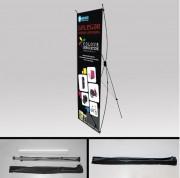 X banner imprimé - Facilement personnalisable - 5 formats