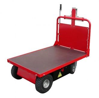 Chariot plateau électrique 700 Kg - Devis sur Techni-Contact.com - 1
