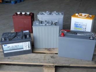 Batterie industrielle de traction pour transpalettes - Devis sur Techni-Contact.com - 1