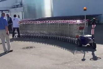 Tracteur pousseur pour caddies de supermarché - Devis sur Techni-Contact.com - 1