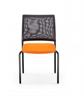 Chaise empilable avec dossier résille - Devis sur Techni-Contact.com - 1