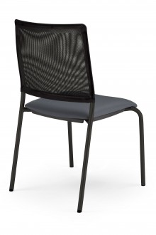 Chaise empilable avec dossier résille - Devis sur Techni-Contact.com - 2