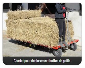 Chariot pour déplacement bottes de paille - Devis sur Techni-Contact.com - 1