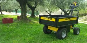 Chariot électrique avec plateau à ridelles 500kg - Devis sur Techni-Contact.com - 3