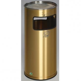 Cendrier corbeille laiton - Devis sur Techni-Contact.com - 1