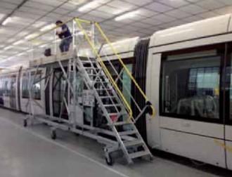 Escabeau d'accès toiture tram - Devis sur Techni-Contact.com - 1