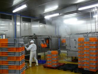 Système de lavage de bacs sur convoyeur aérien - Devis sur Techni-Contact.com - 2