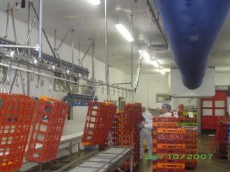 Système de lavage de bacs sur convoyeur aérien - Devis sur Techni-Contact.com - 3