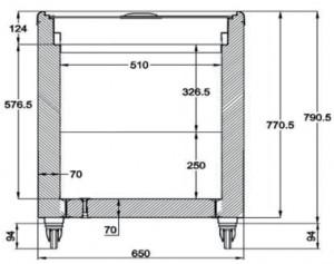 Conservateur à glace avec couvercles coulissants - Devis sur Techni-Contact.com - 3