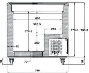 Conservateur à glace avec couvercles coulissants - Devis sur Techni-Contact.com - 4