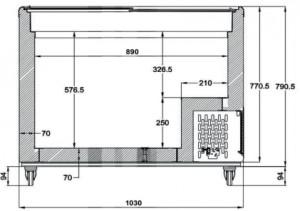 Conservateur à glace avec couvercles coulissants - Devis sur Techni-Contact.com - 5