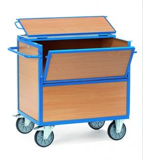 Chariot à caisses en bois - Devis sur Techni-Contact.com - 1