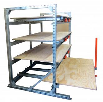 Rayonnage ergonomique à tiroirs bois - Devis sur Techni-Contact.com - 2