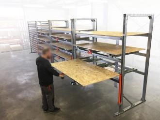Rayonnage ergonomique à tiroirs bois - Devis sur Techni-Contact.com - 3
