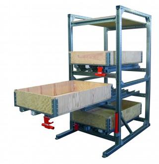 Rayonnage ergonomique à tiroirs bois - Devis sur Techni-Contact.com - 4