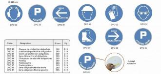 Panneau de protection rond adhésif - Devis sur Techni-Contact.com - 1
