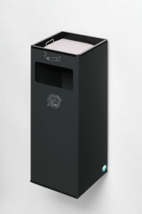 Cendrier acier avec clapet - Devis sur Techni-Contact.com - 2