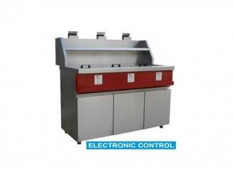 Friteuse électronique à gaz - Devis sur Techni-Contact.com - 1