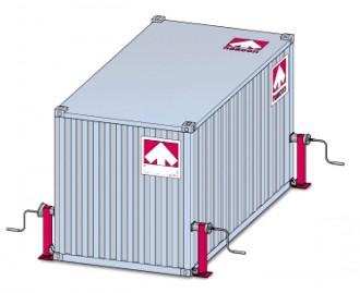 Béquille de nivelage conteneur - Devis sur Techni-Contact.com - 2
