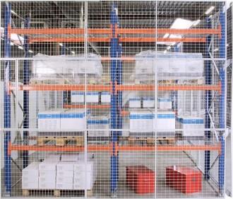 Grille anti chute rayonnage - Devis sur Techni-Contact.com - 3