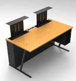 Bureau ecran escamotable - Devis sur Techni-Contact.com - 2
