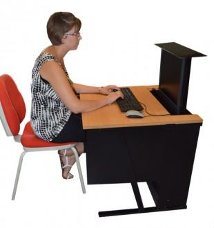 Bureau ecran escamotable - Devis sur Techni-Contact.com - 4