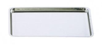 Plateau pâtissier inox 30 x 21 cm - Devis sur Techni-Contact.com - 1