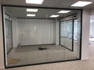 Cloison vitrée amovible - Devis sur Techni-Contact.com - 1