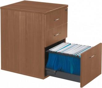 Caisson à hauteur bureau 3 tiroirs - Devis sur Techni-Contact.com - 1