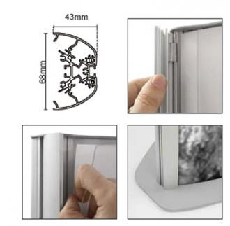 Totem lumineux double face - Devis sur Techni-Contact.com - 2