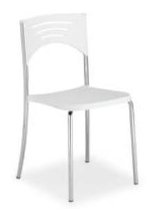Chaise empilable de café - Devis sur Techni-Contact.com - 1