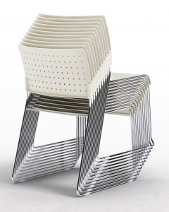 Chaise empilable anti UV - Devis sur Techni-Contact.com - 2