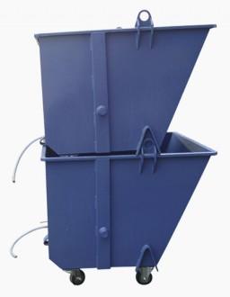 Benne à palonnier pour déchets - Devis sur Techni-Contact.com - 2