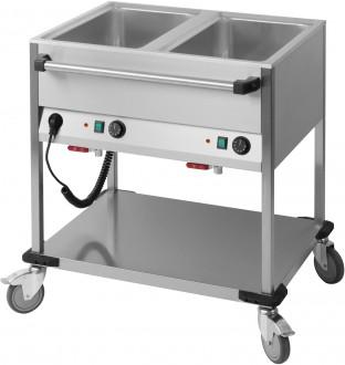 Chariot bain marie horizontal - Devis sur Techni-Contact.com - 1